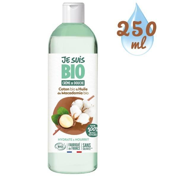 Crème de douche Coton Macadamia bio - 250 ml - Je suis Bio