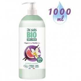 Crème de douche Figue Vanille bio - 1 litre - Je suis Bio