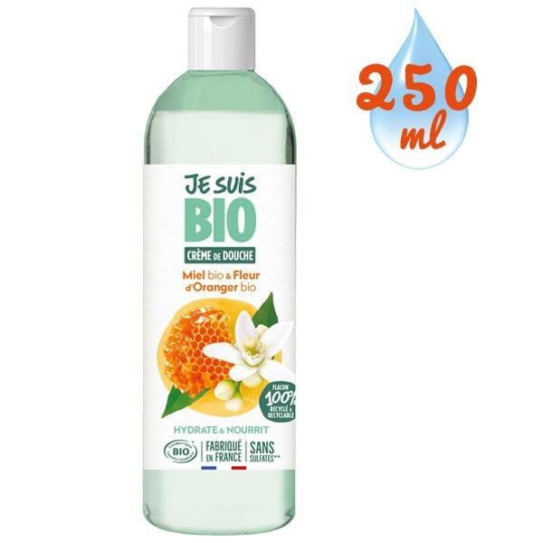 Crème de douche Miel Fleur d'Oranger bio - 250 ml - Je suis Bio