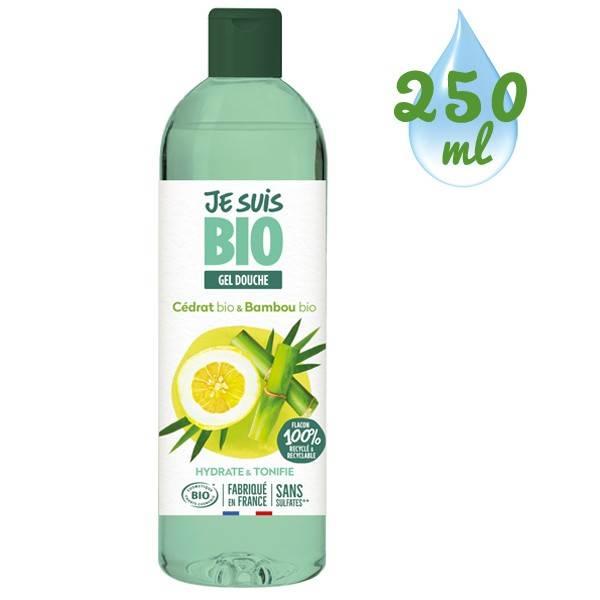 Gel douche Cédrat bio et Bambou bio - 250 ml - Je suis Bio