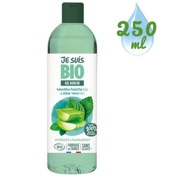 Gel douche Menthe fraîche bio et Aloe vera bio - 250 ml - Je suis Bio