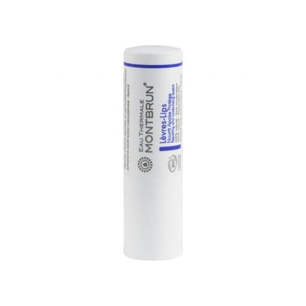 Stick lèvres hydratant et réparateur bio – 4 gr – Eau Thermale Montbrun - Vue 1