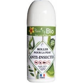Roller anti-insectes pour la peau bio - 50 ml - Penntybio