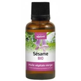 Huile végétale de Sésame Bio – 30 ml – Direct Nature