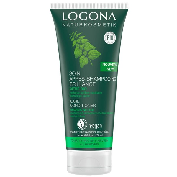 Soin après-shampooing brillance ortie bio – 200 ml - Logona