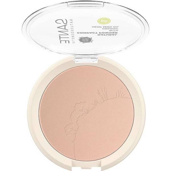 Poudre compacte N°01 Cool Ivory – 9 gr - Maquillage  Sante - Vue 1