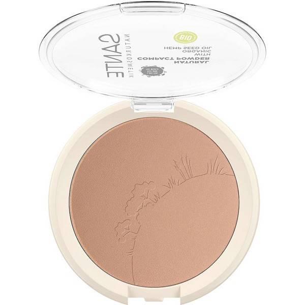 Poudre compacte N°02 Neutral beige – 9 gr - Maquillage  Sante - Vue 1