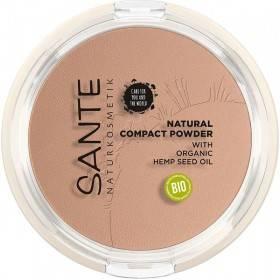 Poudre compacte N°02 Neutral beige – 9 gr - Maquillage  Sante