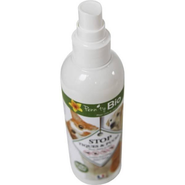 STOP puces et tiques chien et chat - Lotion - 250 ml - Penntybio - Vue 1