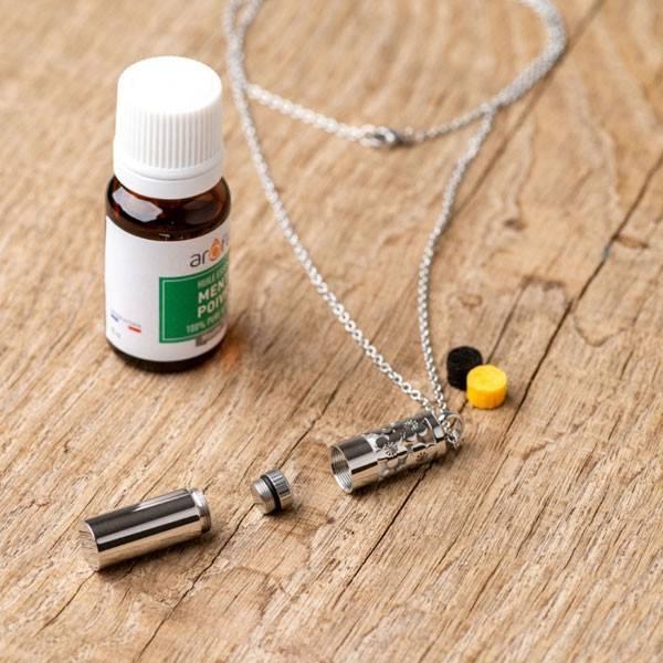 Collier à parfumer Cocoonéa - Diffuseur autonome d'huiles essentielles - Vue 3