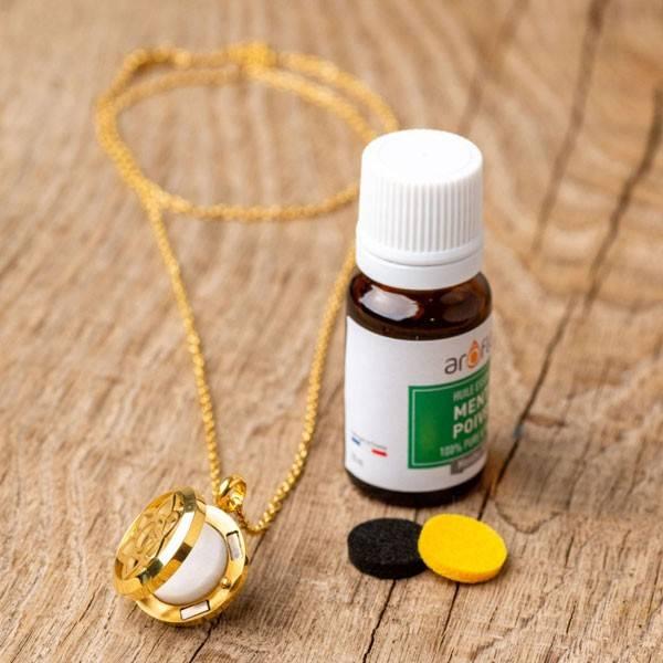 Collier à parfumer Calicéa - Diffuseur autonome d'huiles essentielles - Vue 3