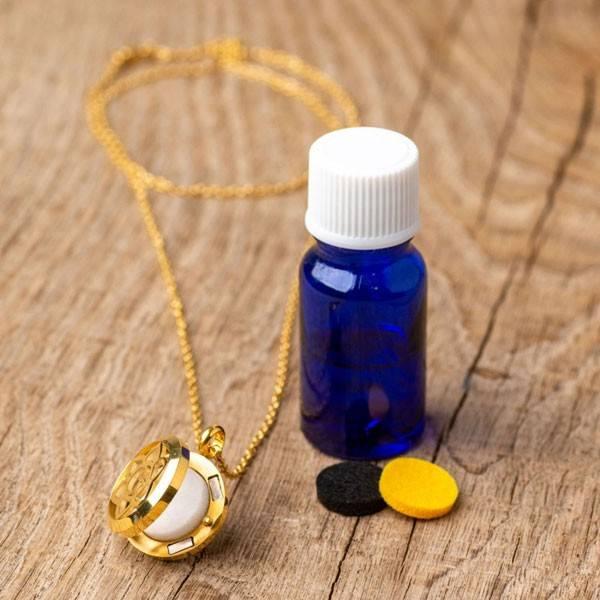 Collier à parfumer Calicéa - Diffuseur autonome d'huiles essentielles - Vue 4