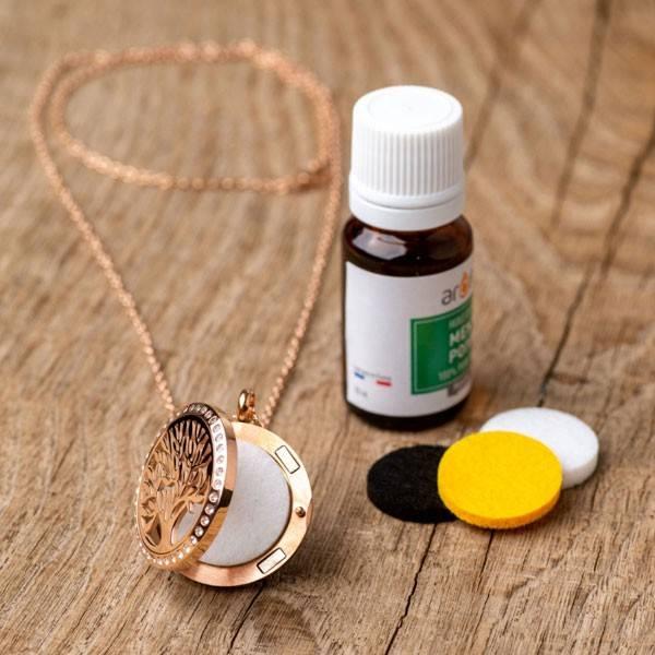 Collier à parfumer Silvaé - Diffuseur autonome d'huiles essentielles - Vue 3