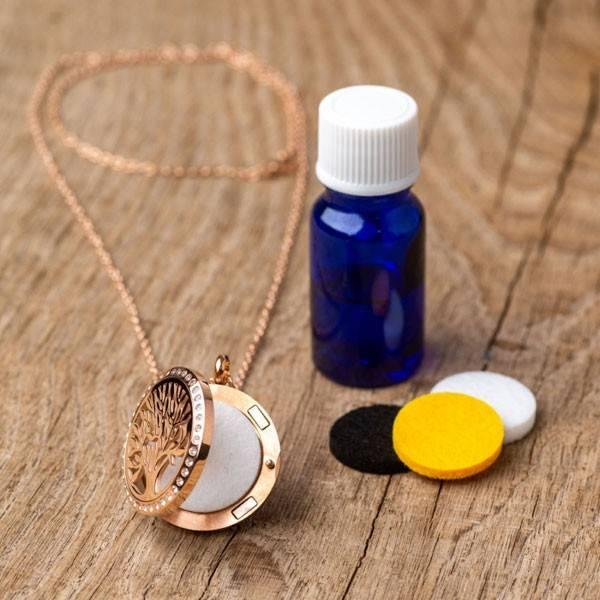 Collier à parfumer Silvaé - Diffuseur autonome d'huiles essentielles - Vue 4