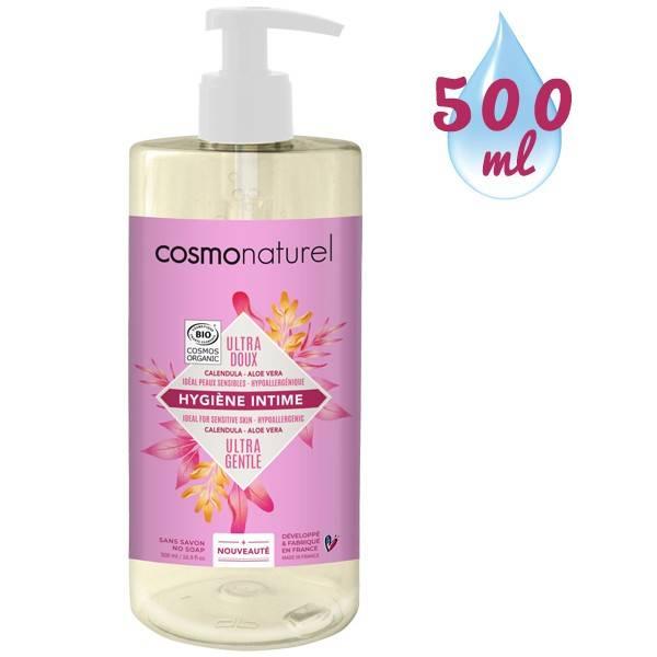 Gel hygiène intime ultra-doux Calendula Aloe vera – 500 ml – Cosmo Naturel