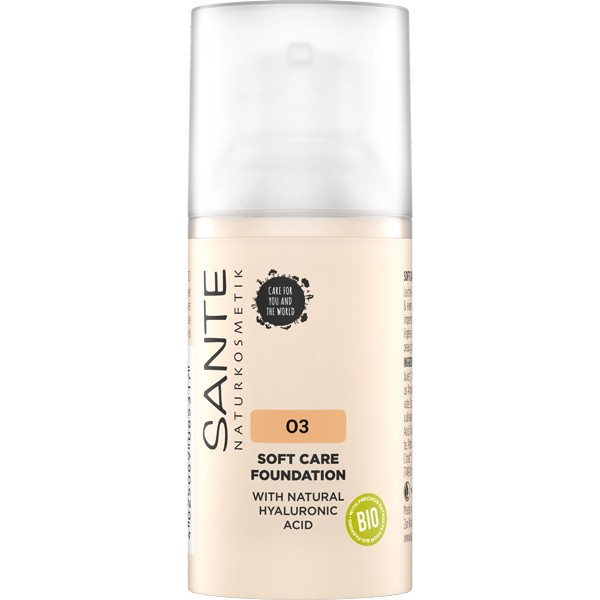 Fond de teint crème 03 Warm Meadow – 30 ml - Maquillage Sante - Vue 1