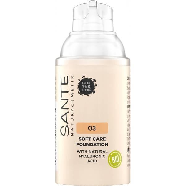 Fond de teint crème 03 Warm Meadow – 30 ml - Maquillage Sante