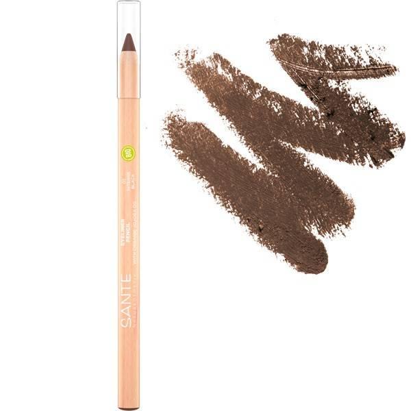 Crayon à paupière KAJAL 02 Deep Brown – Maquillage Sante
