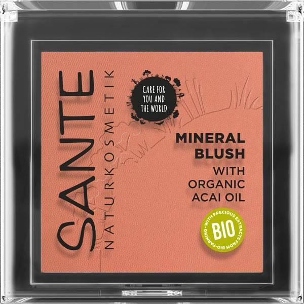 Fard à joues  02 Coral Bronze – 30 ml - Maquillage Sante