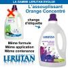 Changement d'étiquette pour l'assouplissant Orange - 1,5 litre – Lerutan