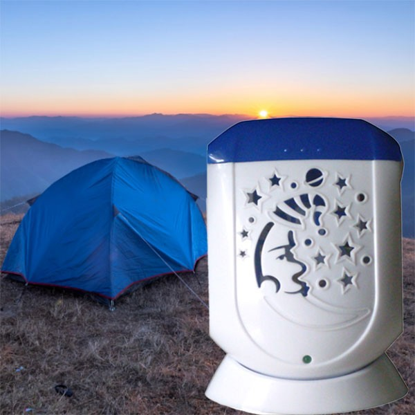 Diffuseur Aroma Wind au camping
