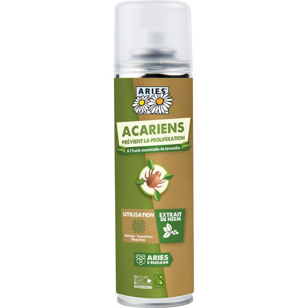 Spray Anti-acariens à l'huile de neem – 200 ml - Aries