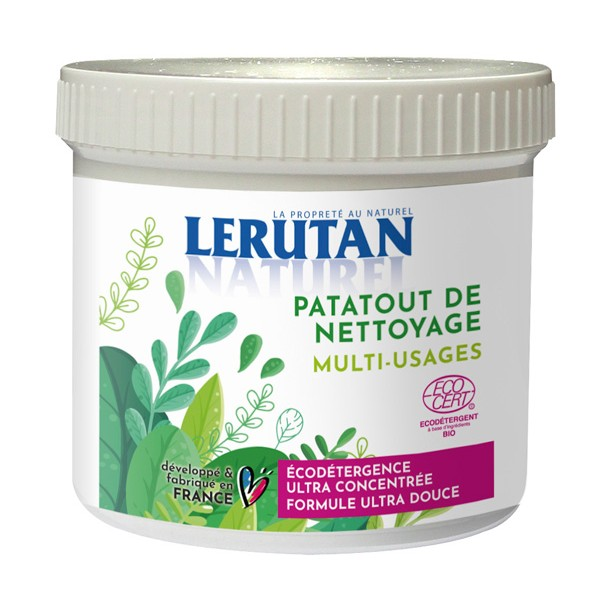 Patatout de nettoyage Multi usages + éponge - 350 g – Lerutan