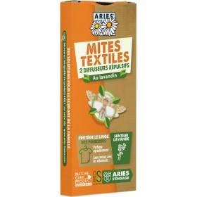 2 diffuseurs répulsif anti-mites textiles - Aries