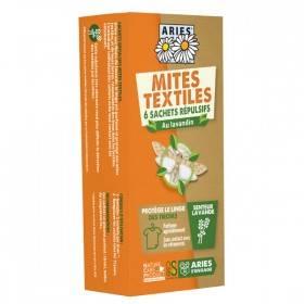 Sachets tiroir à la lavande bio pour mites textiles - Aries