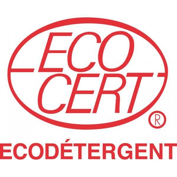 Logo Ecocert pour la lessive concentrée poudre blanc & couleurs – 1 Kg – Lerutan