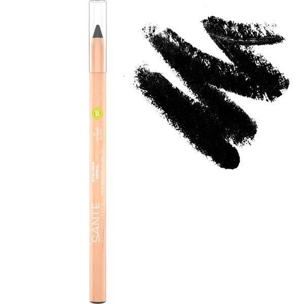 Crayon à paupière KAJAL n°01 Intense Black – Sante