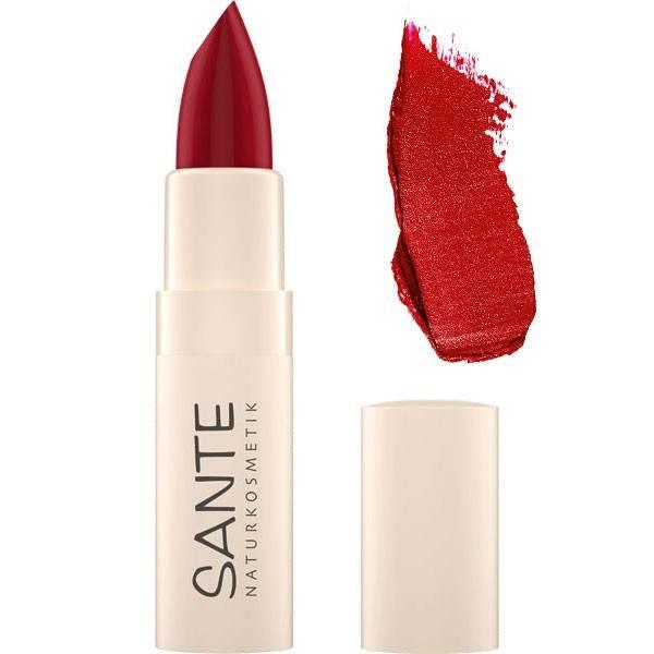 Rouge à lèvres hydratant 07 Fierce Red  - 4,5 gr - Maquillage Sante