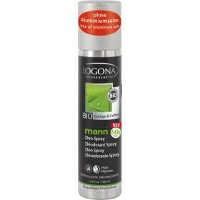 Déodorant bio Ginkgo et Caféine – 100 ml - Logona Mann