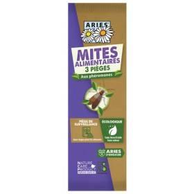 3 pièges mites alimentaires aux phéromones - Aries
