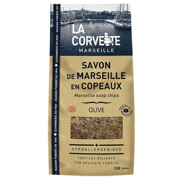 Copeaux de Savon de Marseille Olive - 750 grs - La Corvette