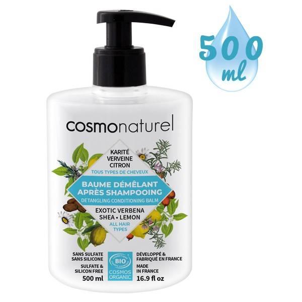 Baume démêlant Karité Verveine Citron – 500 ml - Cosmo Naturel