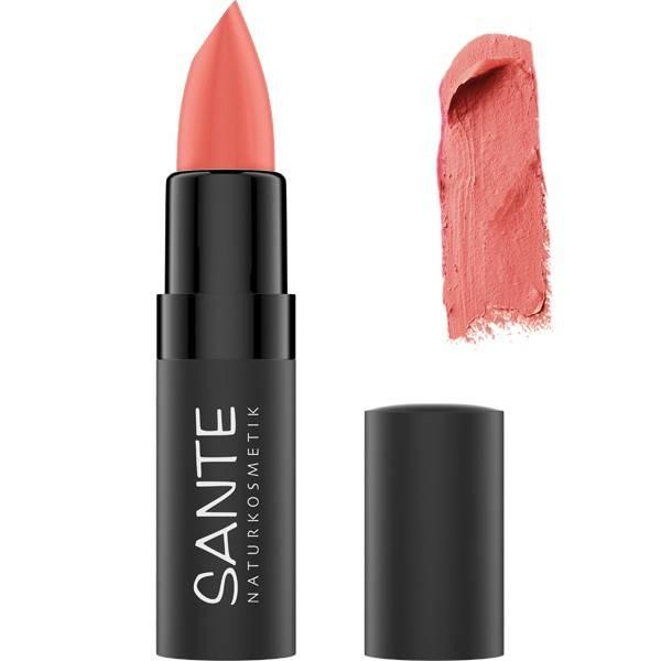 Rouge à lèvres mat 02 Gentle Rose – 4,5 grs – Santé