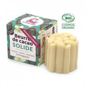 Beurre de cacao solide - Frangipanier - 54 ml - Lamazuna