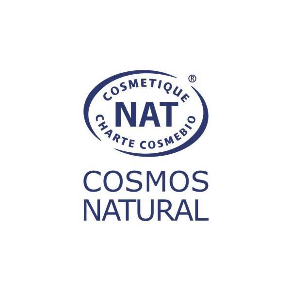 Logo Cosmos Natural pour le Déodorant solide bio au palmarosa - 30 gr - Lamazuna