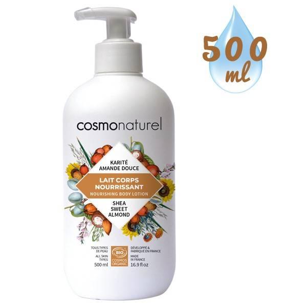 Lait corporel Beurre de Karité hydratant – 500 ml – Cosmo Naturel