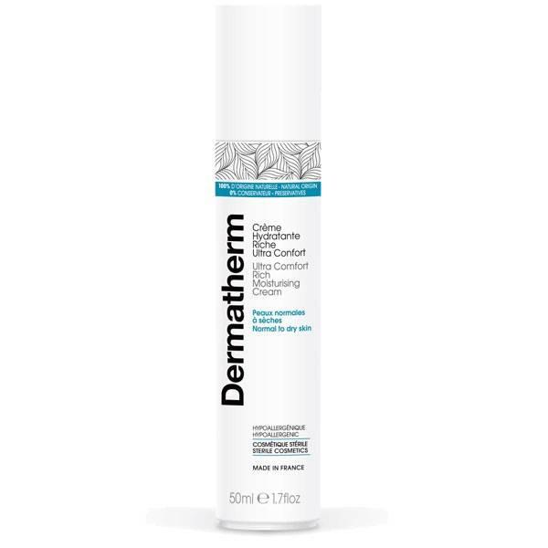 Crème hydratante riche ultra confort – 50 ml - Dermatherm - Vue 1