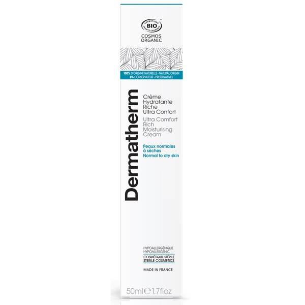 Crème hydratante riche ultra confort – 50 ml - Dermatherm - Vue 2