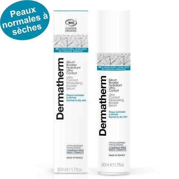 Sérum boostant hydratant ultra confort – 50 ml - Dermatherm