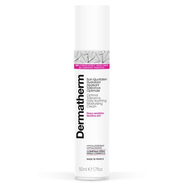 Soin quotidien hydratant apaisant Tolérance optimale – 50 ml - Dermatherm - Vue 1