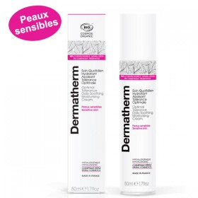 Soin quotidien hydratant apaisant Tolérance optimale – 50 ml - Dermatherm