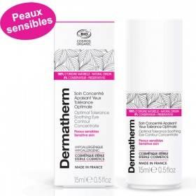 Soin concentré apaisant yeux Tolérance optimale – 15 ml - Dermatherm