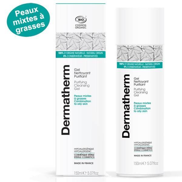 Gel nettoyant purifiant – 150 ml - Dermatherm