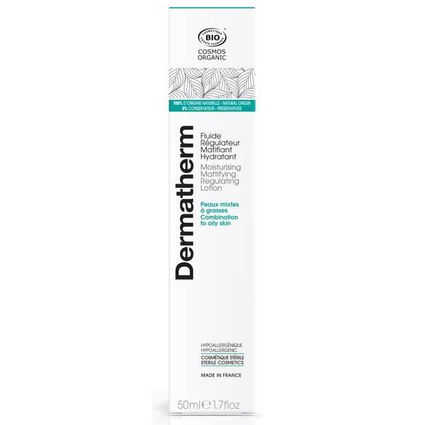 Fluide régulateur matifiant hydratant – 50 ml - Dermatherm - Vue 2