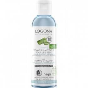 Démaquillant doux pour les yeux à l'Aloe vera bio et à l'huile d'amande douce bio - 125 ml - Logona