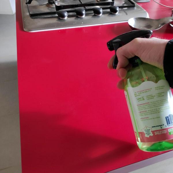 Dégraissant cuisine Menthe Grenade - 500 ml - Starwax Respect - Vue 1